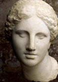 Anonyme, Tête du type de l'Aphrodite de Cnide