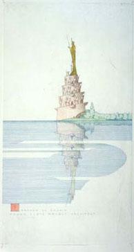 Frank Lloyd Wright, monument dédié à Harun al Rashid pour son