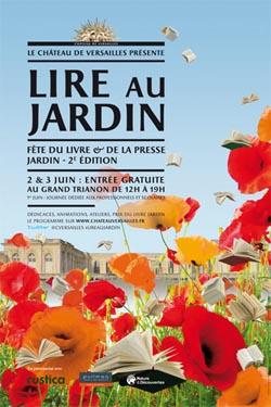 Id e sortie lire au jardin versailles for Lire au jardin 2015 versailles